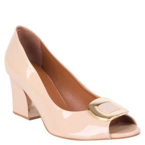 Zapato Vestir Pollini Mujer Beige - S223