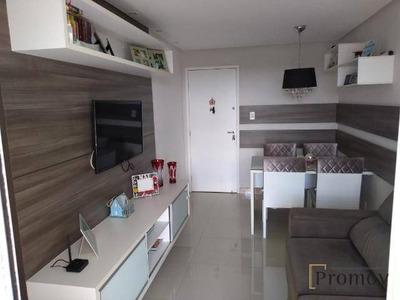 Apartamento Com 3 Dormitórios À Venda, 68 M² Por R$ 260.000 - Jabotiana - Aracaju/se - Ap0532