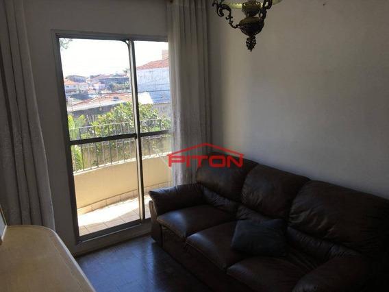 Apartamento Com 1 Dormitório À Venda, 46 M² Por R$ 199.000,00 - Cangaíba - São Paulo/sp - Ap1888