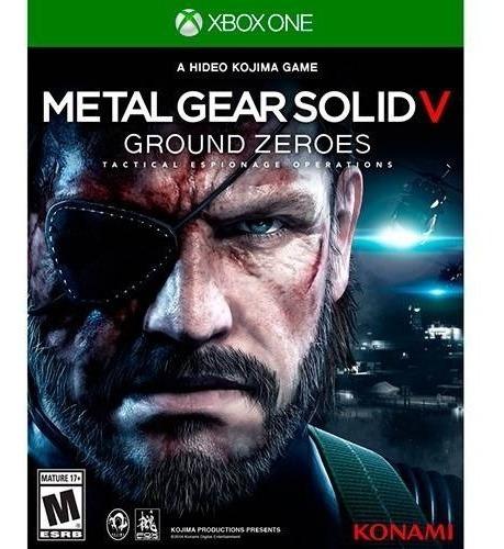 Metal Gear 5 Ground Zeroes Midia Fisica Xbox One