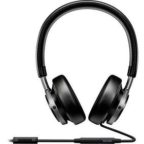 Novo Fone De Ouvido Philips On Ear Fidelio M1 Preto