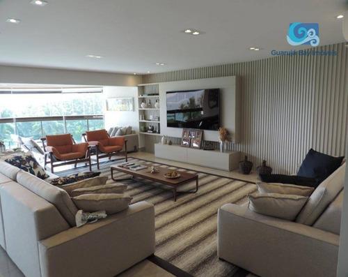 Imagem 1 de 30 de Apartamento À Venda Condomínio Tortugas - Praia Da Enseada - Guarujá - Ap4655