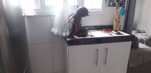 Cobertura Com 2 Dormitórios À Venda, 76 M² Por R$ 290.000 - Jardim Utinga - Santo André/sp - Co4541