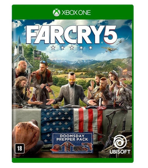 Far Cry 5 - Xbox One - Novo - Midia Física - Português