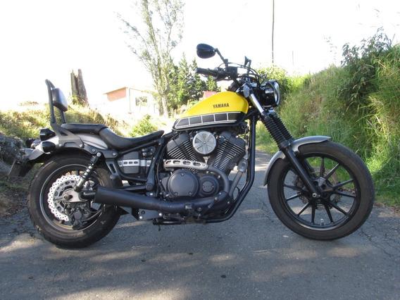 Yamaha Bolt 950 Amarilla-negra