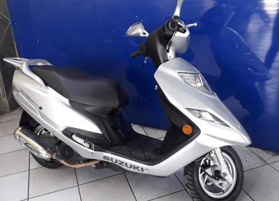 Suzuki Burgman 125 Prata 2012