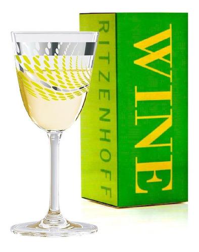 Imagem 1 de 2 de Taça De Vinho Branco Cristal Melanie Wullner 2012 200ml