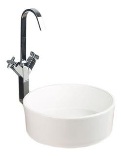 Lavamanos Ceramico De Sobreponer Redondo