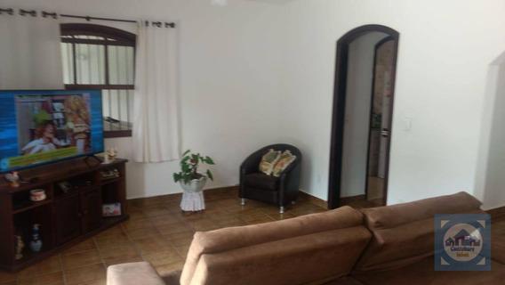 Casa Com 4 Dormitórios À Venda, 160 M² Por R$ 325.000 - Parque Balneário Oásis - Peruíbe/sp - Ca0843