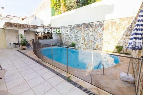 Imagem 1 de 30 de Sobrado Em Condomínio 3 Dormitórios 4 Vagas Espaço Gourmet + Piscina Para Venda Barro Branco São Paulo-sp - 107206