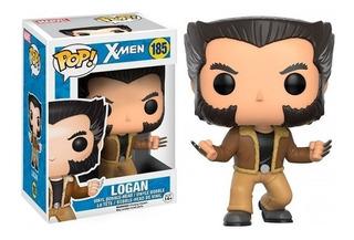 Funko Pop Figura X-men Logan Int 12458 Original Wabro