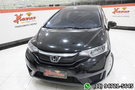 Honda Fit Dx 1.5 Cvt Preto 2017 Financiamento Próprio 9578