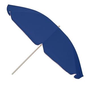 Sombrilla Para Playa 2.0m Funda Filtro Uv Articulación Azul
