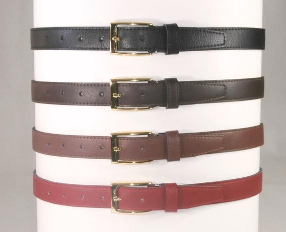 Cinturón Heb. Doradas Para Damas En Sint Para Uniformes 28mm