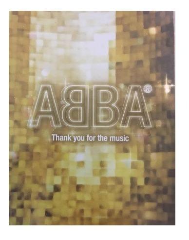 Abba - Thank You For The Music - Dvd - Como Nuevo Original!!