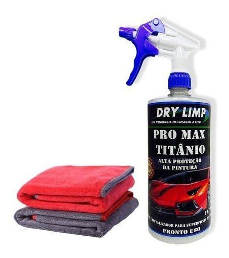 Pro Titanium Cristalizador De Pintura De Carro 1l + 3 Brinde