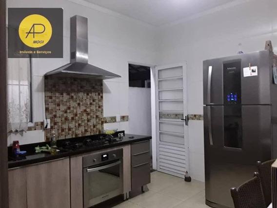 Casa Residencial À Venda, Vila São Paulo, Mogi Das Cruzes - Ca0056. - Ca0056