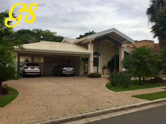 Casa Térrea Venda Condomínio Alphaville Campinas Oportunidade - Ca00761 - 32750606