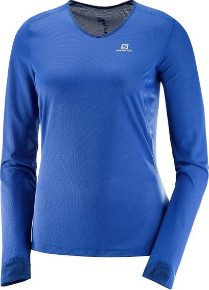 Remera Salomon - Lightning Ls Tee - Mujer - Running