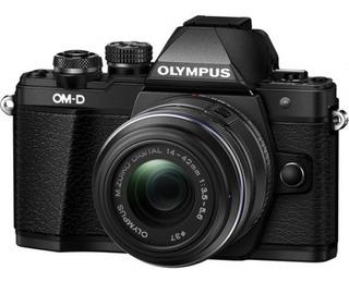 Cámara Olympus E-m10 Mark Ii C/14-42mm Ii R Negro