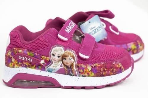 Zapatillas Niña Disney Frozen Silicone Air Con Luz Frozensil