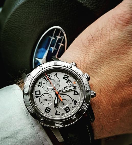 Relógio Hermes Automático Cronógrafo Omega Rolex Breitling