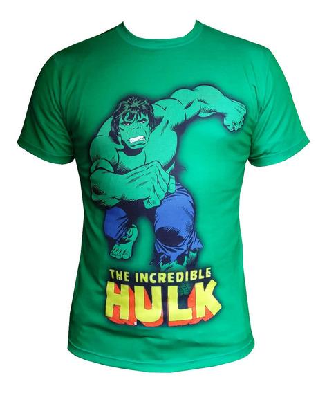 Camiseta Heróis Homem De Ferro Capitão América Hulk Batman +