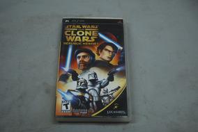 Jogo Star Wars Clone Wars Republic Heroes Psp Original