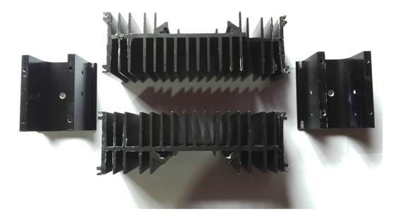 Dissipadores Completos Do Amplificador Gradiente Modelo 166