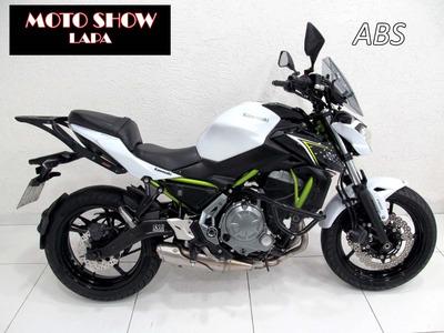 Kawasaki Z 650 Abs 2018 Branca
