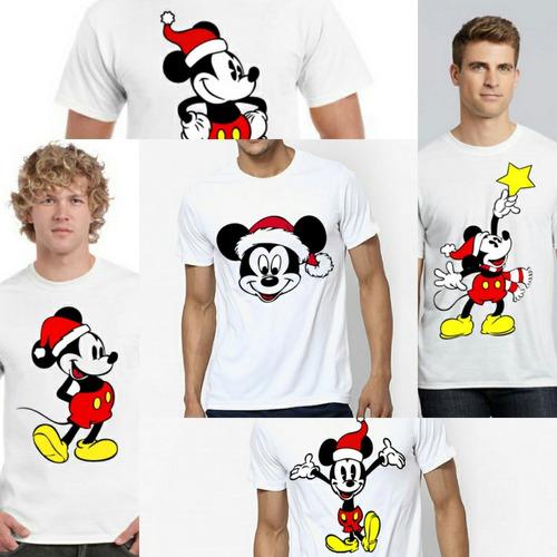 Camisetas Niños Adultos 100% Algodón - Diseños De Navidad