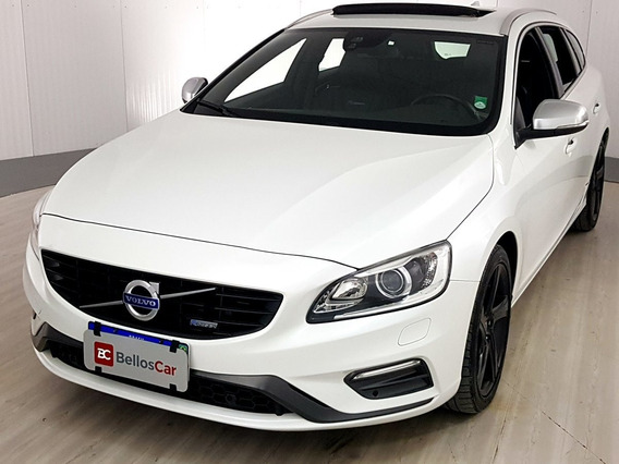 Volvo V60 2.0 T5 R Design Dynamic 16v Turbo Gasolina 4p...