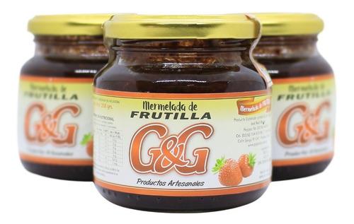 Mermelada De Frutilla G&g X 250g