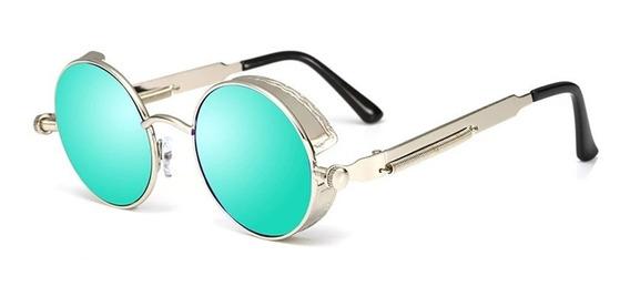 Óculos Solar Modelo Redondo Masculino Feminino Proteção Uv