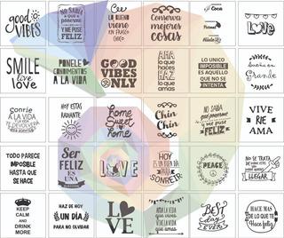 50 Vinilos Para Frascos Frases En Mercado Libre Argentina