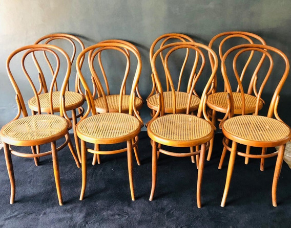 Antiguas Sillas Thonet Modelo N° 18 Originales C/ Sello
