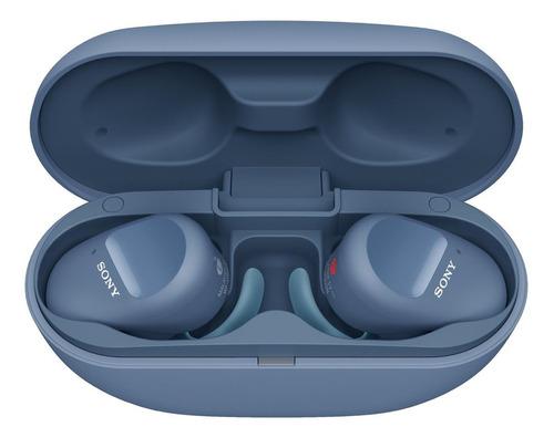 Imagen 1 de 5 de Audífonos in-ear inalámbricos Sony WF-SP800N azul