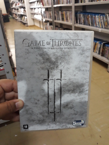 Dvds Game Of Thrones A Terceira Temporada Completa