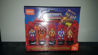 Mega Construx Masters Of The Universe Battle For Eternia
