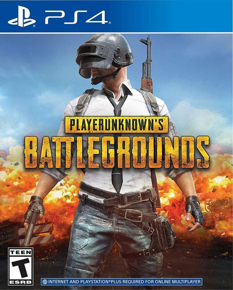 Playerunknowns Battlegrounds Ps4 Mídia Física Novo Original