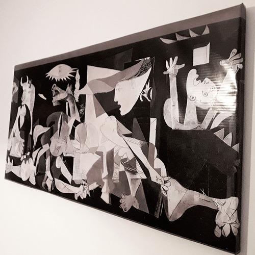 Imagen 1 de 2 de Cuadro Guernica Pablo Picasso Réplica 100x50cm