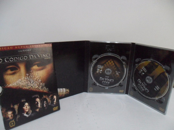 Dvd Duplo - Filme - O Código Da Vinci - Edição Estendida