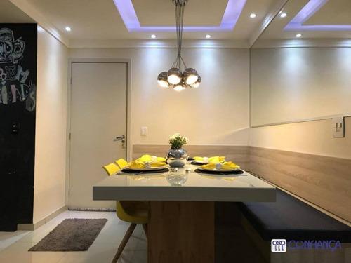 Apartamento No Riviera Premium Por R$ 280.000 - Campo Grande - Rio De Janeiro/rj - Ap1069