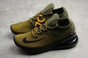 Zapatilla Nike Airmax Verde Oscuro 270 Talla 35-45 (pedido)