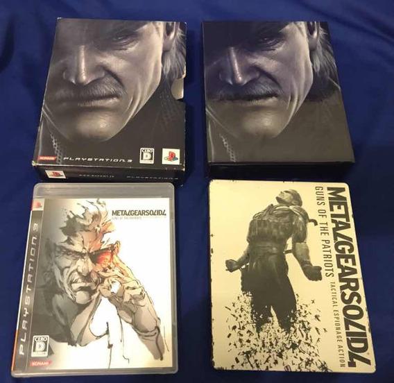 Metal Gear 4 Special Edition Japonês Ps3 - V391
