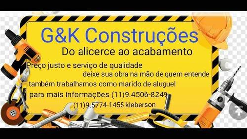 Imagem 1 de 1 de G&k Construções Atendimento Rápido Via Whatsapp