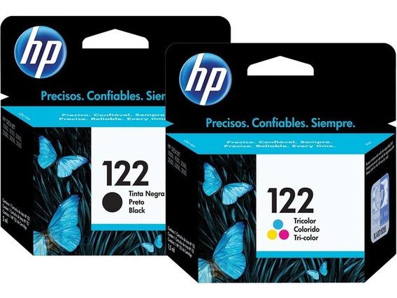 Cartuchos De Tinta 122 Hp 100% Garantizado Nuevas
