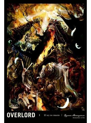 Novela Overlord Tomo 01 - Mexico
