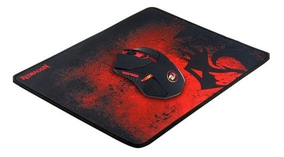 Mouse Gamer Redragon Centrophorus + Mousepad M601-ba