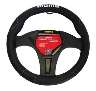 Funda Cubre Volante Momo Italy Universal Negro 006